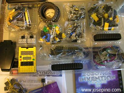 Lego Mindstorms parts