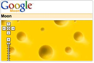 Moon is made of cheese!
