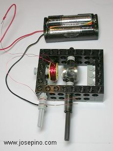 pulse electric lego motor
