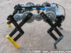 Lego Mindstorms Quad Walker